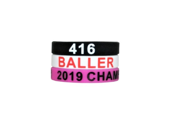 Silicone Wristbands for Men